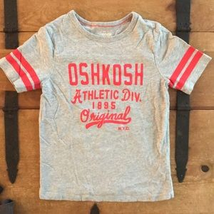 OshKosh B'gosh Boys Grey Athletic Tee Shirt